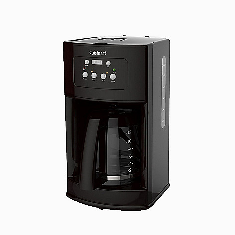 Cuisinart 12 Cup Programmable Coffeemaker W Glass Carafe Evine