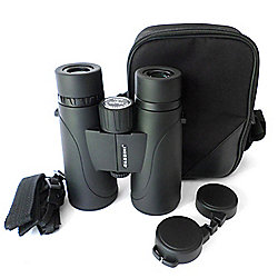Cassini 10x Power 50mm BAK4 Prism Binoculars w/ Case