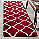 Red / Ivory runner in your home
