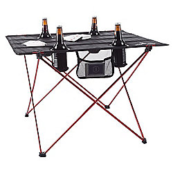 Activities & Leisure - Wakeman Outdoors Folding Camp Table w Cupholders & Carrying Bag - 483-753