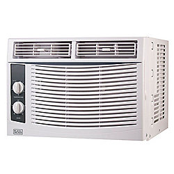Black & Decker 5,000 BTU Mechanical Window Mounted Air Conditioner w/ Remote