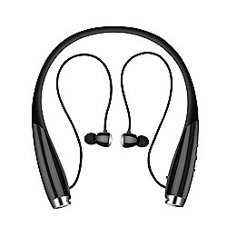 1f53dcc82d3 LifeCHARGE HiTech Series NS700 Bluetooth Wireless In-Ear Neckband 2-in-1 .