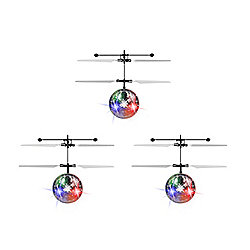 World Tech Toys Comet Set of 3 LED Flying Balls