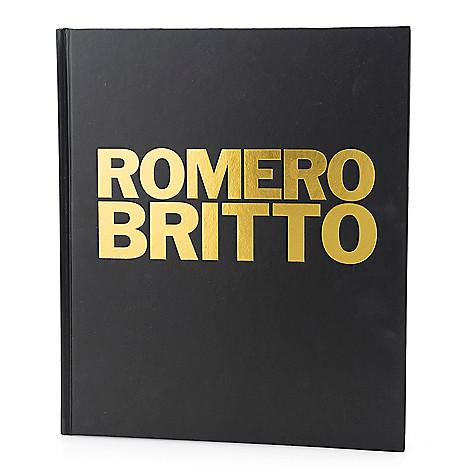 Britto Hardcover Coffee Table Book Shophq