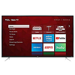 "TCL 50"" 4K Ultra HD Smart LED TV w/ Built-in Roku - Refurbished"