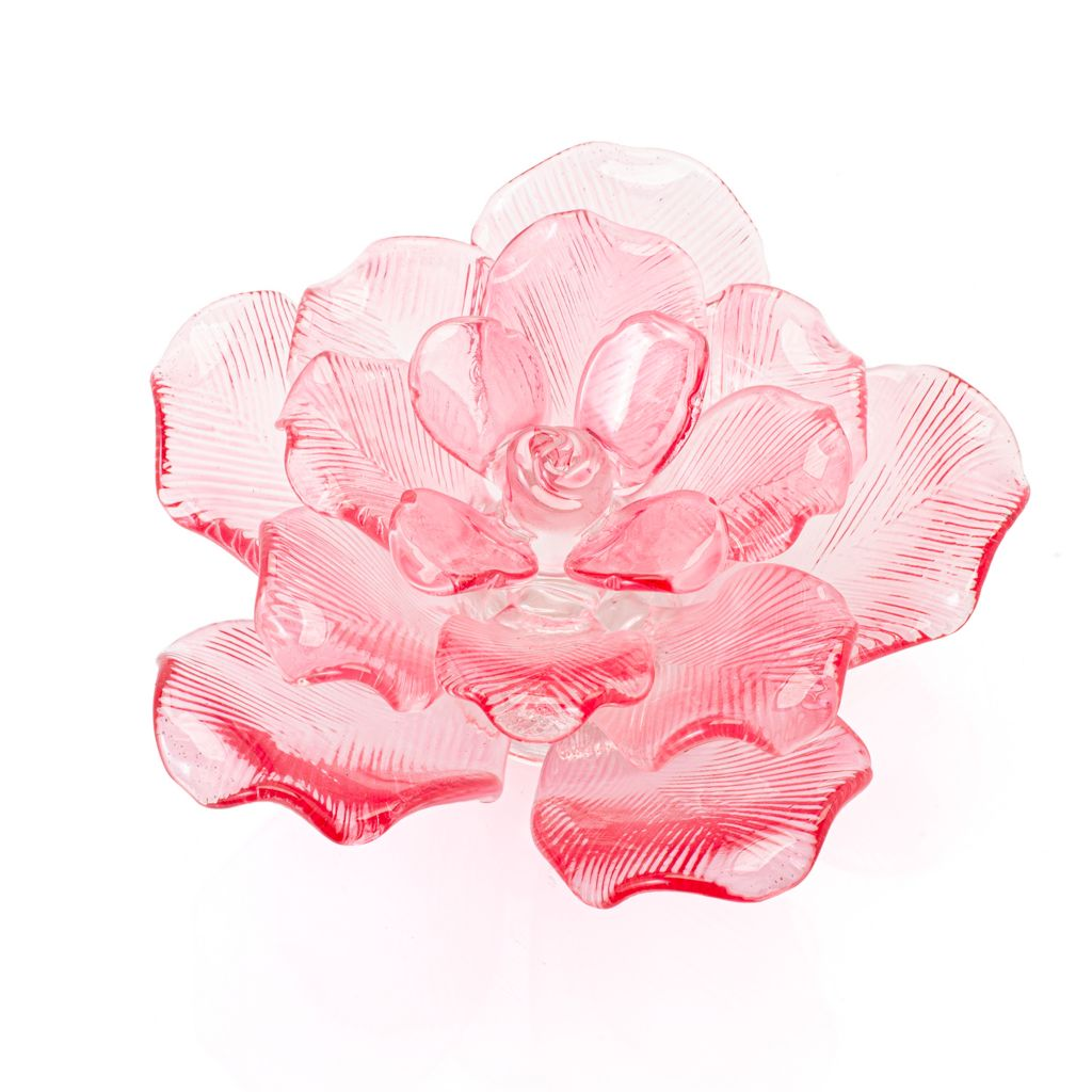 Waterford Fleurology 4 Rose Head Collectible with Hand Applied Petals - 486-186