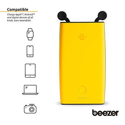Beezer Portable 10,000mAh Power Bank with Dual Type-C USB Ports & LED Light - 58% OFF - 486-388
