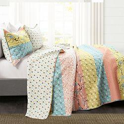 Bedding 486-869 Lush Decor Royal Empire 3-Piece Quilt Set - 486-869