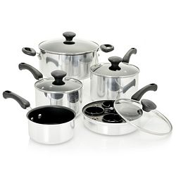 Cookware 486-992 Frigidaire 14-Piece Aluminum Nonstick Cookware Set - 486-992