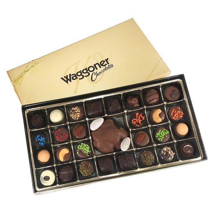 Waggoner Chocolates - 487-409 Waggoner Chocolates 14 oz Assorted Gourmet Gift Box