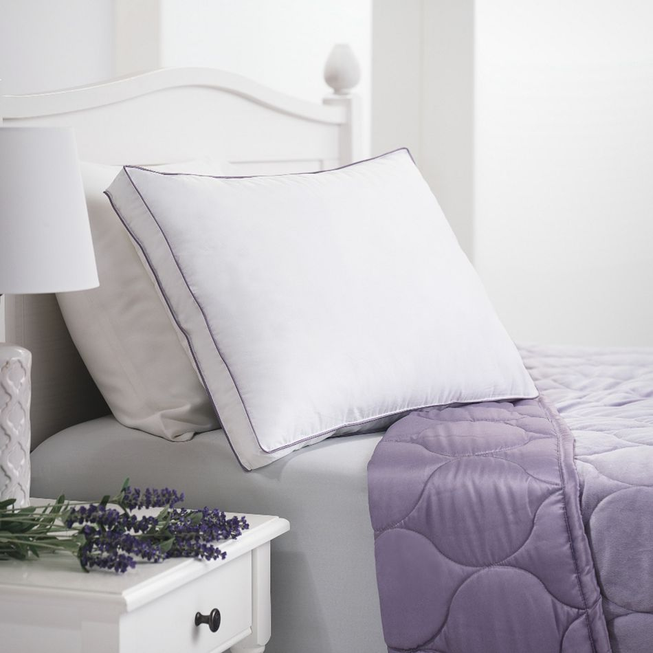 Shop All Daily Digital Deals at ShopHQ -487-523 Allied Home Lavender Scented Aromatherapy Cotton Pillow
