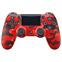DualShock 4 Wireless Controller - Red Camo