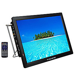 "Trexonic 14"" Portable Rechargeable 1080p LED HDTV"
