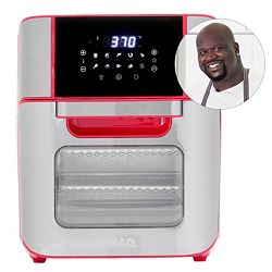 Air Fryers 489-290 SHAQ 12 qt 1700W 7-in-1 Stainless Steel Digital Air Fryer Oven Pro - 489-290