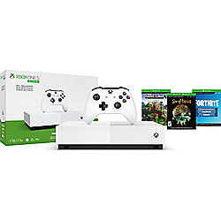 Microsoft Xbox One S 1TB All Digital w/ 3 Games Bundle