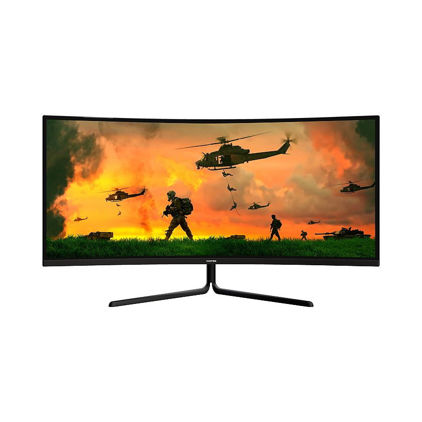 490-763 Viotek 49 1080p HD 144Hz 1800R Curved Gaming Monitor
