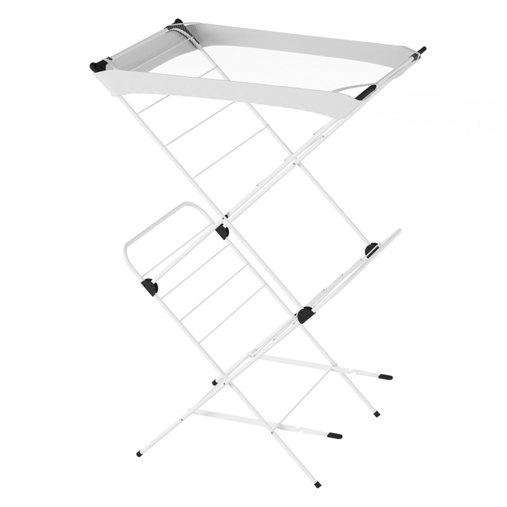 2 Tier Foldable Clothes Drying Rack