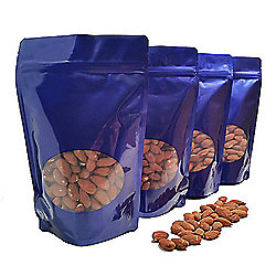 Waggoner Chocolates Premium 4-Pack (3 lbs) Roasted Almonds in Resealable Bags