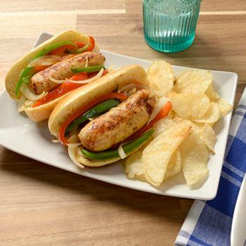 Backyard Bites Eat Up - Shipping is Included - 491-544 Paula Deen 18 (3 oz) Sweet Italian Chicken Sausage Links - 491-544