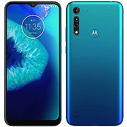 Motorola Moto G8 Power Lite 64GB GSM Unlocked Android Smartphone - Blue