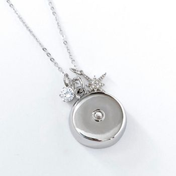 Sizzling Tech Deals Up to 40% OFF -This Weekend Only - 492-884 invisaWear Smart Jewelry 18 Choice of Color Charm Necklace for Personal Safety - 492-884