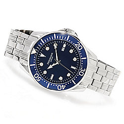 Rudiger Men's Chemnitz Quartz Stainless Steel Bracelet Watch