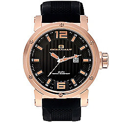 c9d6f8c08ad Image of product 625-817. QUICKVIEW. Oceanaut 48mm Spider Quartz Date  Silicone Strap Watch