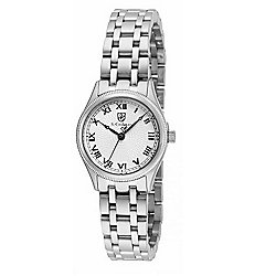 S. Coifman Women's Quartz Stainless Steel Bracelet Watch