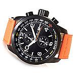 51e14a6cd Image of product 630-242. Invicta 50mm Aviator Quartz Chronograph Nylon Strap  Watch w/ Three-Slot ...