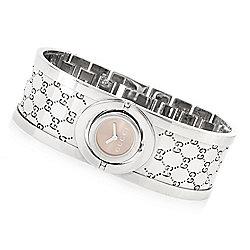8daf9a1cb65 Gucci Women s Twirl Swiss Made Quartz Stainless Steel Bangle Bracelet Watch