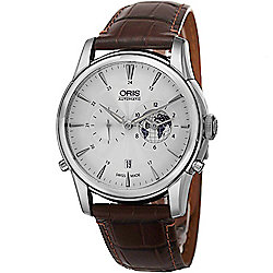 Oris 42mm Aretelier Limited Edition Swiss Made Automatic Leather Strap Watch