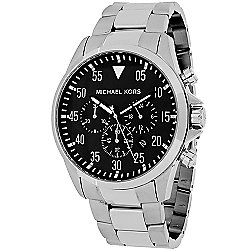 Michael Kors 45mm Gage Quartz Chronograph Date Stainless Steel Bracelet Watch