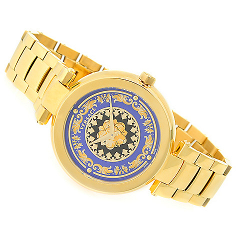 937f6514f1a Versace Women s Mystique Foulard Swiss Made Quartz Stainless Steel Bracelet  Watch