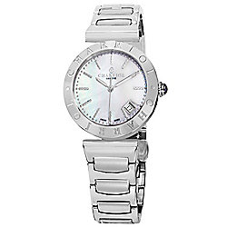 Charriol Women's Alexandre C. Swiss Quartz Mother-of-Pearl Stainless Steel Bracelet Watch