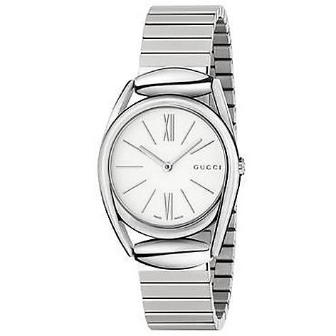 d3b8e64fa50 633-321- Gucci Women s Horsebit Quartz Stainless Steel Bracelet Watch