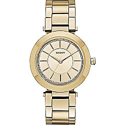 DKNY Women's Stanhope Quartz Stainless Steel Bracelet Watch