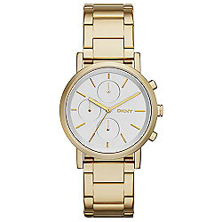 DKNY Women's Soho Quartz Stainless Steel Bracelet Watch