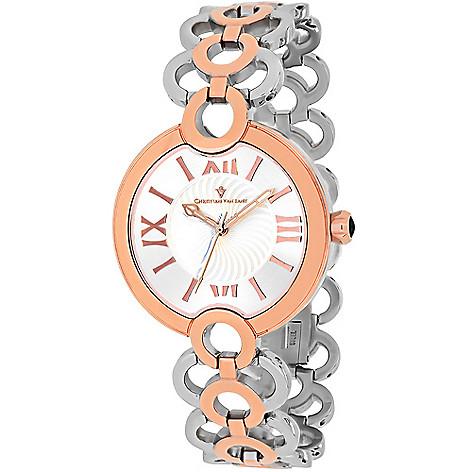 Christian_Van_Sant_Womens_Twirl_Swiss_Quartz_Stainless_Steel_Bracelet_Watch