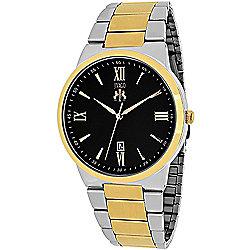Jivago Men's 41mm Clarity Quartz Stainless Steel Bracelet Watch - 635-532