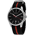 8aba6ee90ac Image of product 636-025 · Gucci 40mm G-Timeless Swiss Made Quartz Nylon Strap  Watch