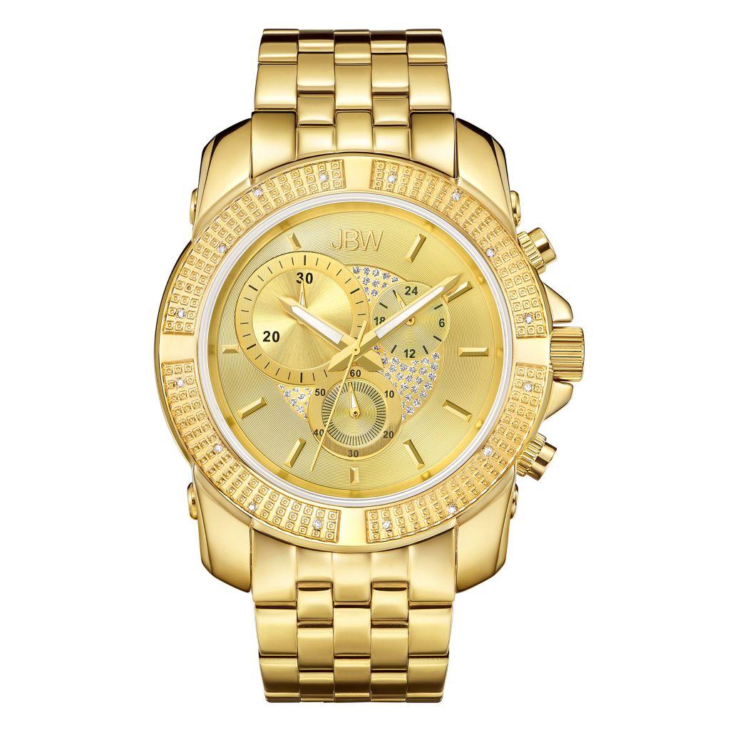 JBW 48mm Warren Chronograph Watch - 638-154
