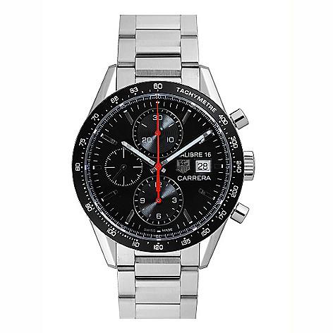 71bb24a96f2d 639-646- Tag Heuer Men s 41mm Carrera Calibre 16 Swiss Made Automatic  Chronograph Bracelet