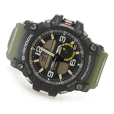 b216f5bdfe6 639-736- Casio Men s 52mm G-Shock Mudmaster Digital Quartz GMT Multi  Function