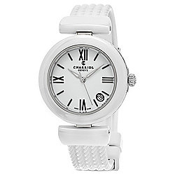 Charriol by Phillipe Charriol Women's Ael Swiss Made Quartz Rubber Strap Watch