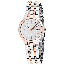 DKNY Women's Park Slope Quartz Stainless Steel Bracelet Watch