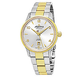 Alpina 41mm Alpiner Swiss Made Automatic Two-tone Stainless Steel Bracelet Watch