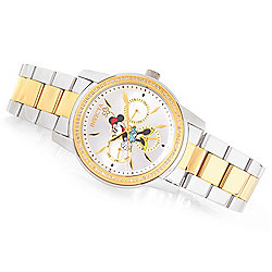 Invicta Disney® Women's Angel Limited Edition Quartz 0.35ctw Diamond Bracelet Watch