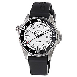 Zeno Men's 48mm Divers Swiss Made Quartz Rubber Strap Watch