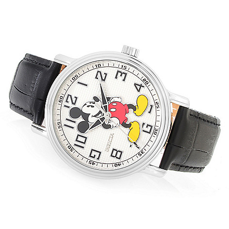 93f6487c8f1 644-185- Invicta Disney® 32mm or 43mm Limited Edition Quartz Leather Strap  Watch