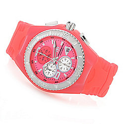 TechnoMarine Women's Jellyfish Quartz Chronograph Silicone Strap Watch